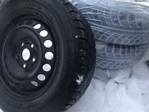 195/65/15 WINTER TIRES x 4 GISLAVED NORDFROST 5