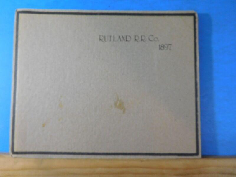 Rutland Railroad Heart Of The Green Mountains Souvenir Edition Season 1897