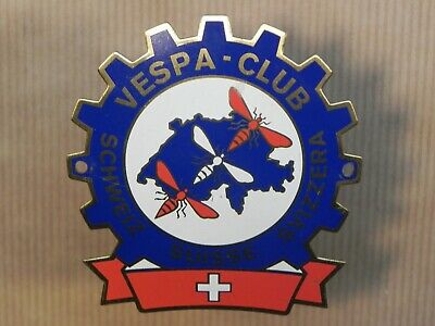 Vespa Club Suisse Badge