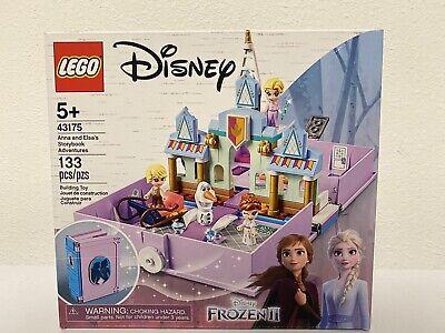 LEGO Disney Frozen 2 Anna and Elsa's Storybook Adventures 133 pcs #43175 NEW