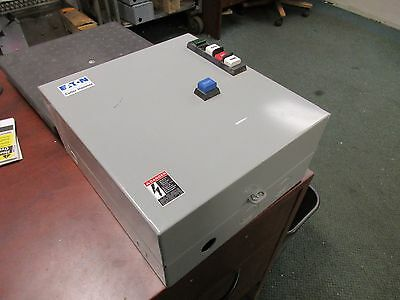 Cutler-hammer Enclosed Starter An16bn0 Size 0 120v Coil 18a Used