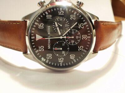 Michael Kors Men's Watch MK8333 - The Gage Chronograph New Battery