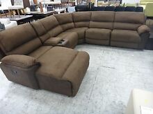 BOURBON FABRIC MODULAR w/ RECLINERS - SOFA CLEARANCE Richmond Yarra Area Preview