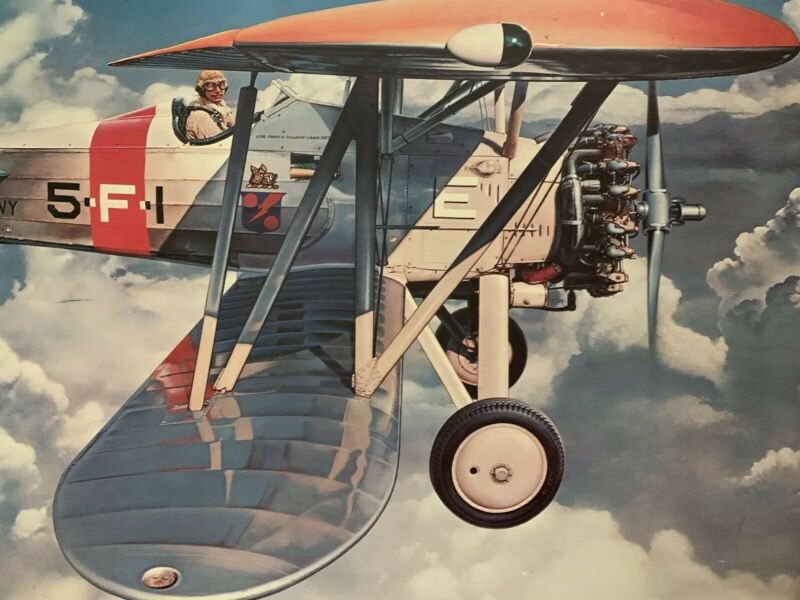 Ted Wilbur Boeing F4B-1 Reallusions Signed
