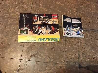 Vintage (1980) LEGO Classic Space set 6901 Mobile Lab Box Instructions Only