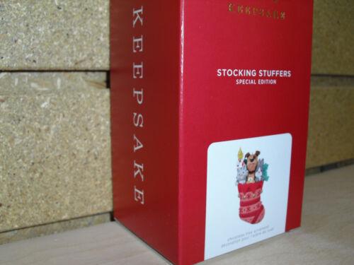 2021 Hallmark Ornament SPECIAL EDITION (REPAINT) STOCKING STUFFERS NIB!!