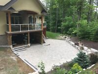 Interlock stone, decks, driveways and more!