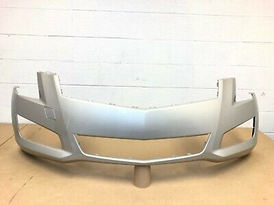 2013-2014 oem cadillac ats sedan front bumper cover (champagne silver) #2