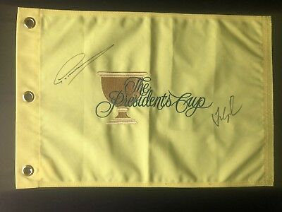 Flags Knowledgeable 2019 Us Open Autograph Signed Field Flag Dustin Johnson Spieth Beckett Bas Coa