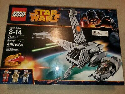 Lego 75050 Star Wars B-Wing.Retired Rare New Sealed In Box