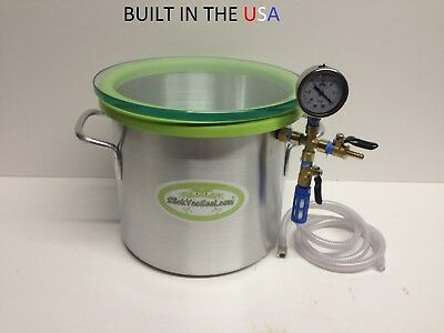 3.0 Gallon Wood Stabilizing Vacuum Chamber Built In The Usa.