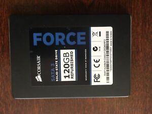 Disque dur électronique SSD Corsair Force 120GB