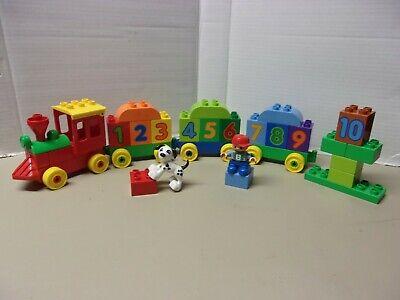 LEGO DUPLO NUMBER TRAIN COMPLETE SET 10558