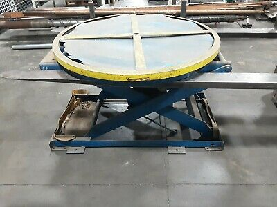 Pneumatic Lifting Table Pallet Carousel Positioner 597taw