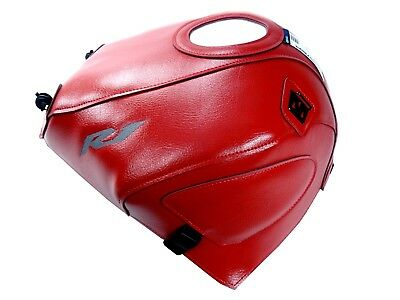 BAGSTER YAMAHA YZF-R1 1998 > 1999 TANK PROTECTOR COVER Tankbra R1 Red 1353C for sale  Shipping to Ireland