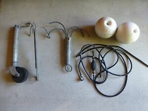 Boat bits & pieces, winch handles, jockey wheel, power supply North Fremantle Fremantle Area Preview