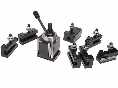 Cxa Wedge Tool Post For Lathe 13-18 Plus 2 Extra Tool Holders