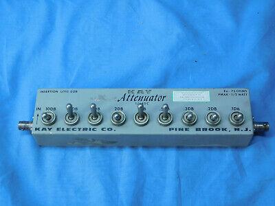 Kay 1442c 75 Ohms Pmax 12 Watt Attenuator