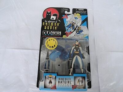 The Adventures Of Batman And Robin Wind Blitz Bat Girl Kenner 1997 brand new](Batman And Robin Girls)