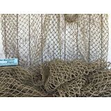 Authentic Used Fishing Net ~ 5'x10' HEAVY Commercial Fish Netting ~ Nautical