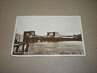 HAMWORTHY BRIDGE. POOLE. DORSET. circa 1940 REAL PHOTOGRAPHIC POSTCARD segunda mano  Embacar hacia Spain