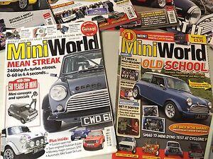 Austin Mini Cooper magazines
