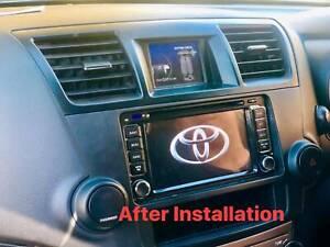 Toyota Kluger******2013 Car Dvd GPS FREE Reverse Camera