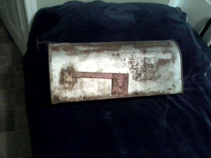 Antique Sears & Roebuck Metal Mailbox