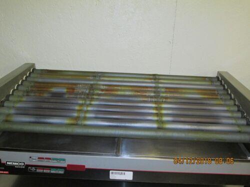 Nemco commercial restaurant hot dog roller grill holds 50 hot dogs