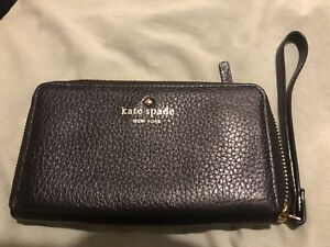 kate spade new york pebbled leather wallet phone case