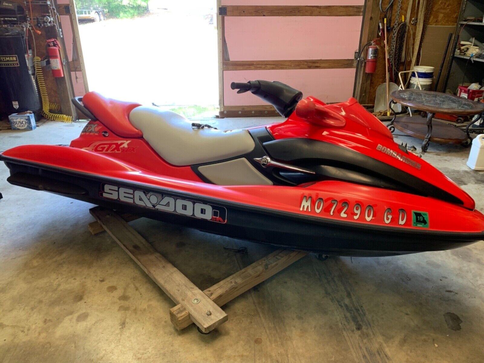 Sea-Doo gtx di (fuel injected 2stroke) 3 seater big ski