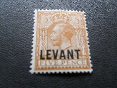 British Levant  KGV  1921   Mm  5d  stamp as per pictures