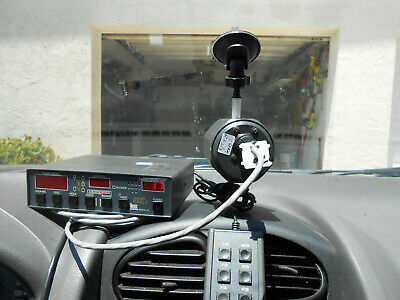 Kustom Signals Eagle Police Radar Quick Release Antenna Window Mounts 2pk