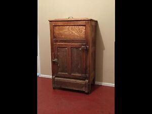 Antique Ice chest refrigerator meat safe Melton Melton Area Preview