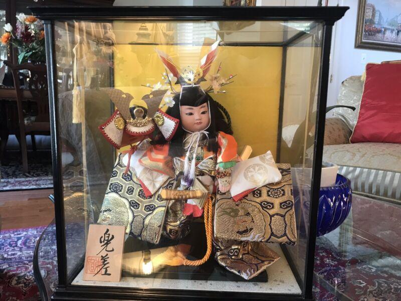 Modern Beautiful Japanese Samurai Doll -The Little General
