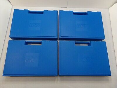 Vintage Blue Lego Storage Containers