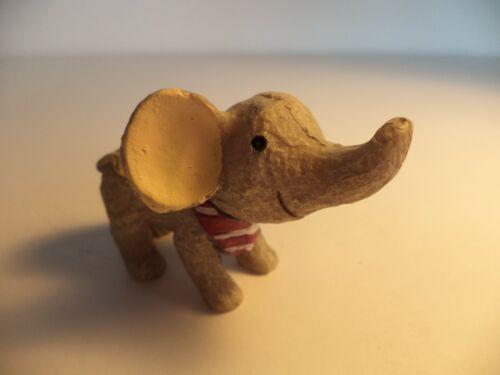 "2 1/2"" NEW UNIQUE RESIN  ELEPHANT  FIGURINE MINIATURE"