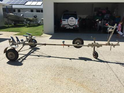 Folding Boat Trailer Real-Ezy BARCOO 2012 Pelican Waters Caloundra Area Preview