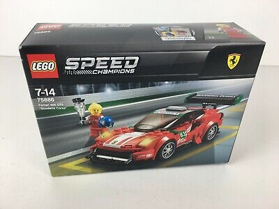 Lego Speed Champions 75886 Ferrari 488 GT3 Scuderia Corsa New & Sealed