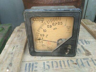 Vintage Power Factor Meter 1956
