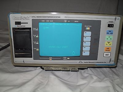 Invivo Omni-trak Mri 3000 Vital Signs Monitoring System Powers Up Great