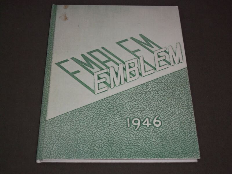 1946 THE EMBLEM CHICAGO TEACHERS COLLEGE YEARBOOK - ILLINOIS - PHOTOS - YB 1136