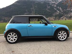 Mini Cooper S Supercharged 6 speed.   Must sell