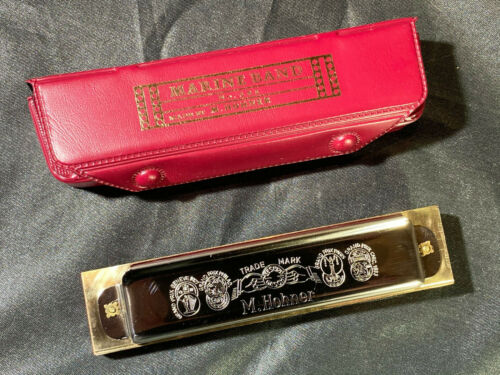 Hohner Marine Band 364/24 Soloist~Key Of C~New Condition