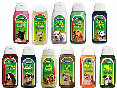 Johnsons shampoo for dog puppy kitten best wash flea deodorant aloe vera