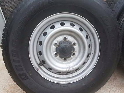 wheels with tyres 2012 ford ranger