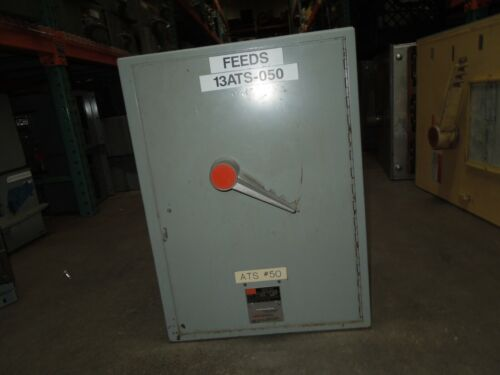 Fpe Qmqb4036vr 400a 3p 600v Single Fusible Switch Unit Used