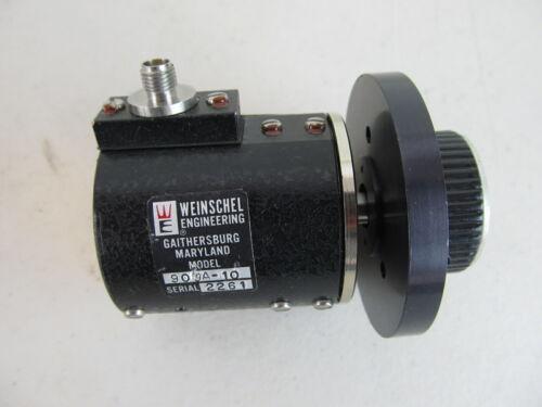 Weinschel 909A-10 10dB Variable Attenuator, SMA Connectors