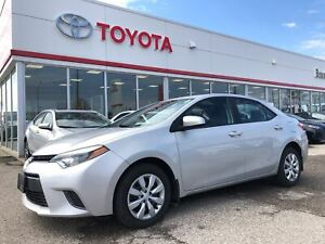 2016 Toyota Corolla LE, Off Lease, ONLY 23752 Km's, Local Owner
