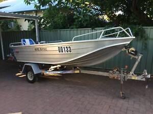 Boat Quintrex Hornet 400 Widebody
